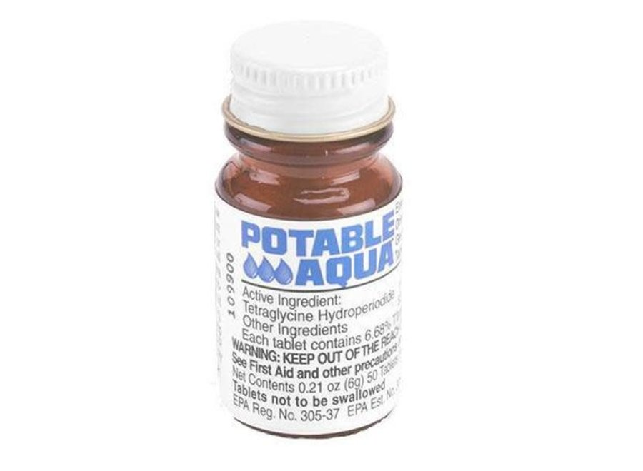 Potable Aqua 50 Water Purification Tablets