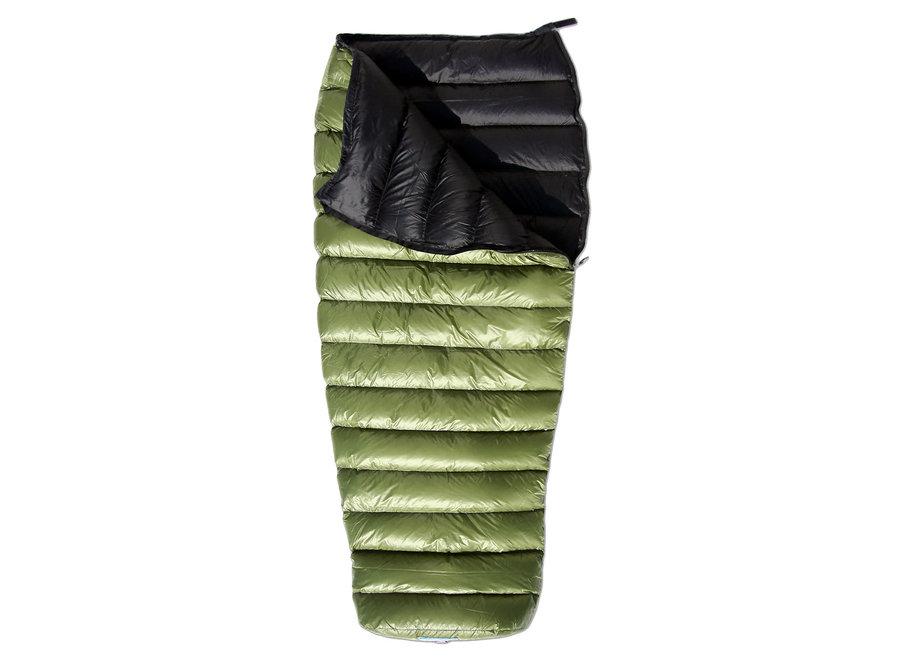 "Western Mountaineering MityLite Sleeping Bag 40F 6'3"""