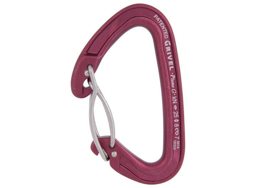 Grivel Plume Wire Twin Gate Carabiner