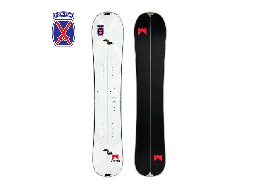 Weston 10th Mountain Splitboard 19/20 166cm