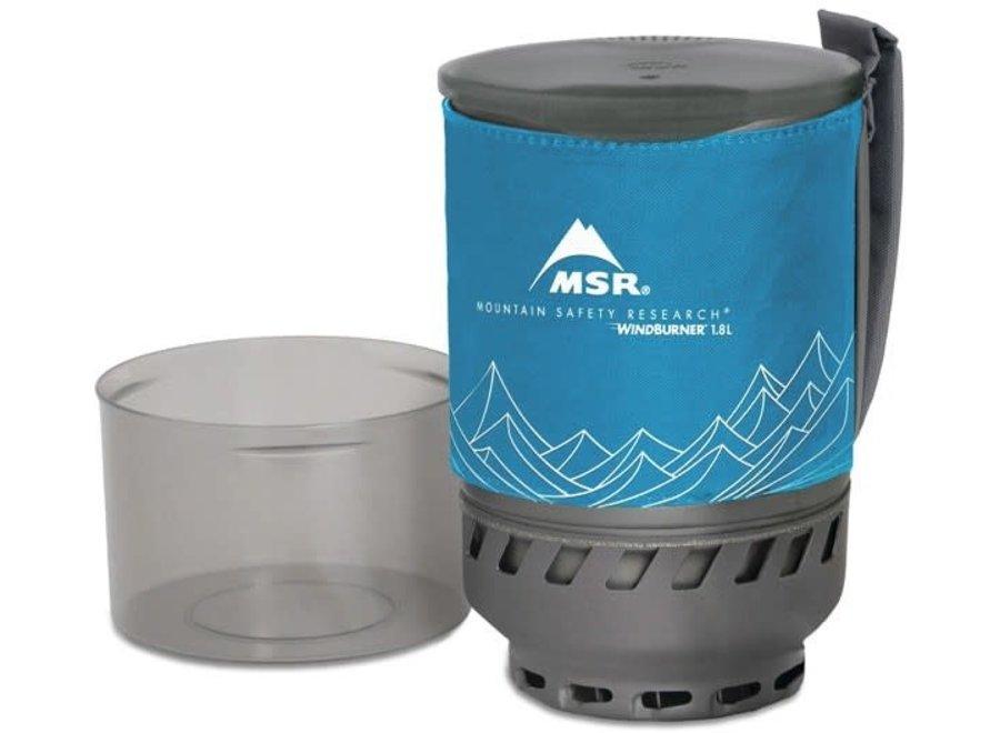 MSR WindBurner Duo Accessory Pot Blue 1.8L