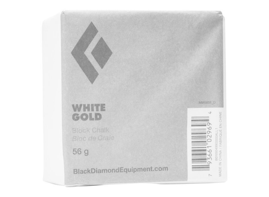 Black Diamond White Gold Block Chalk - 56g