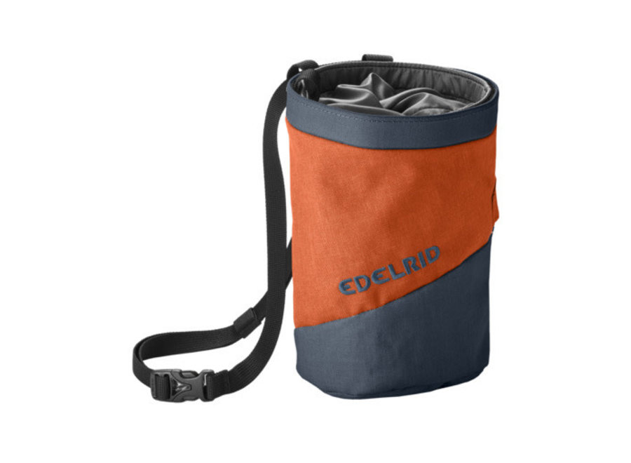 Edelrid Splitter Twist Chalk Bag Safran