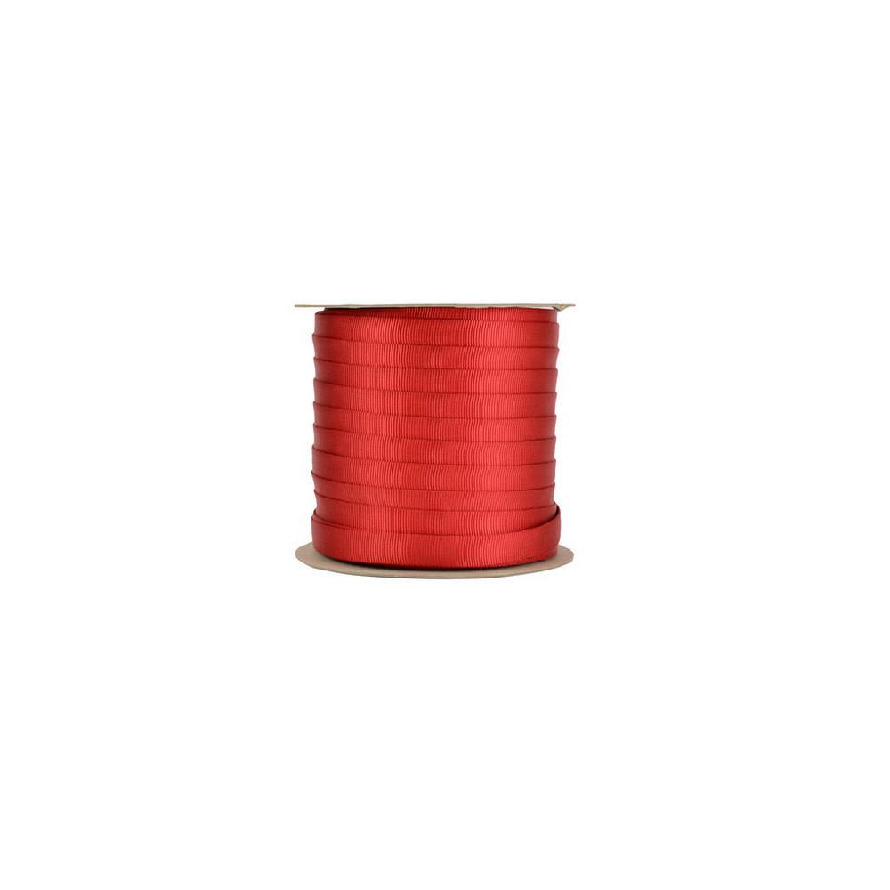 Sterling 1 Tubular Webbing Red 150 feet