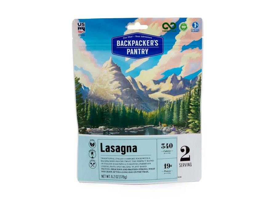 Backpacker's Pantry Lasagna 2P