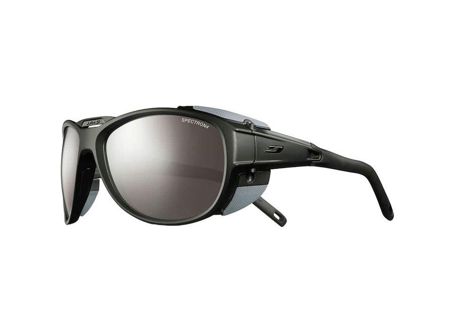 Julbo Explorer 2.0 Sunglasses : MatteBlack/Gray Frame with Spectron 4 Lenses