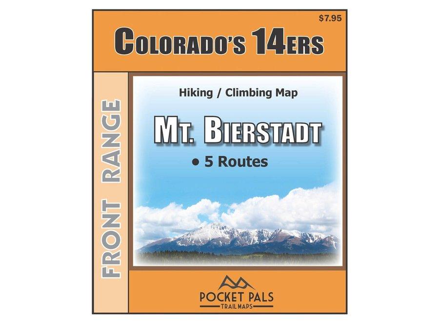 Pocket Pals Maps Mt. Bierstadt Trail Map