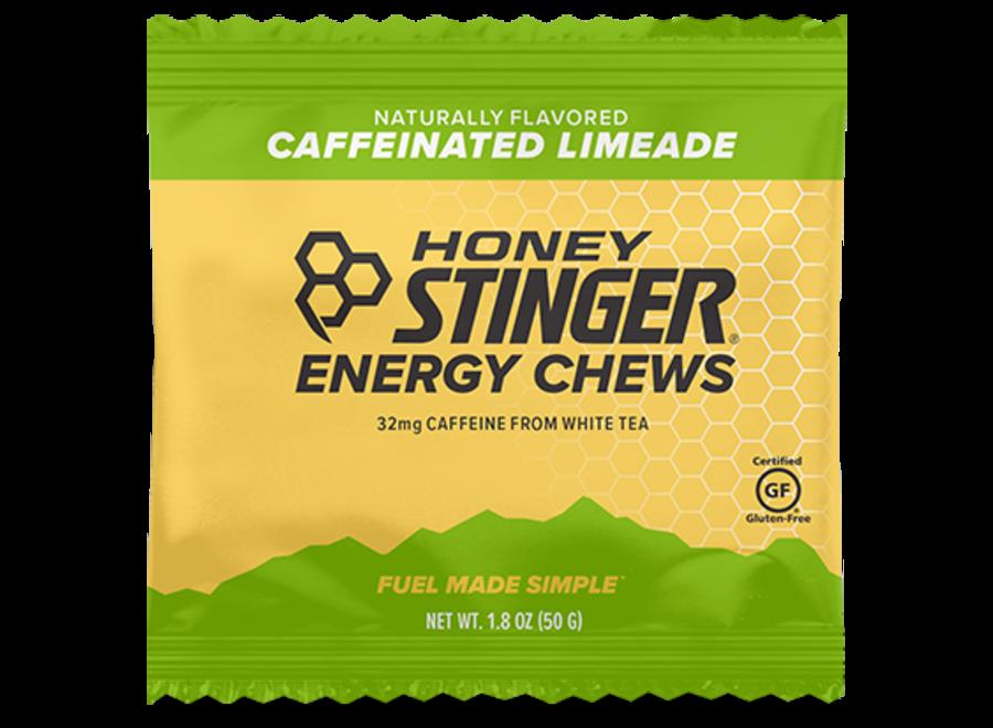 Honey Stinger Organic Energy Chews Limeade - Caffeinated