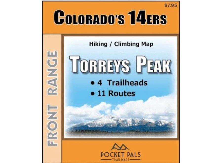 Pocket Pals Maps Torreys Peak Trail Map