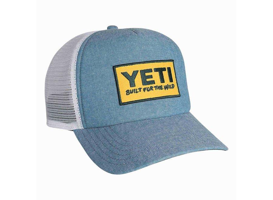 Yeti Deep Fit Foam Patch Trucker Hat