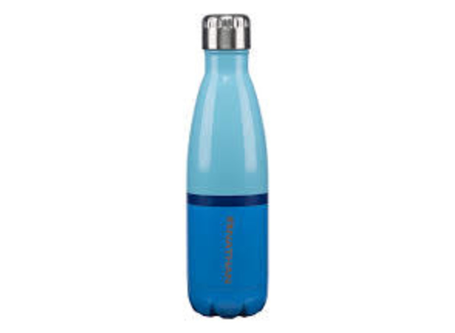 Nathan Chroma Steel 17 Oz Bottle Transblue/Cendreblue