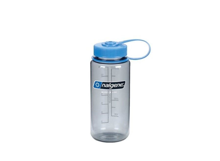 Nalgene Wide Mouth Bottle Everyday Gray/Blue 1 Pint
