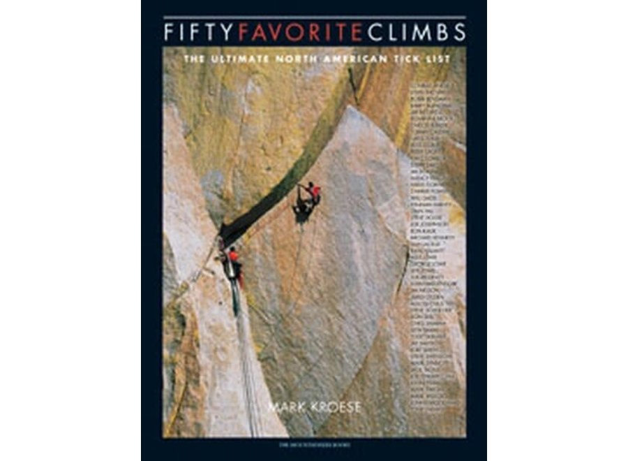 Fifty Favorite Climbs Kroese