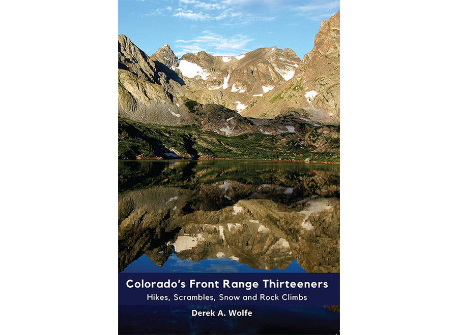 Sharp End Publishing Colorado's Front Range Thirteeners by Derek Wolfe