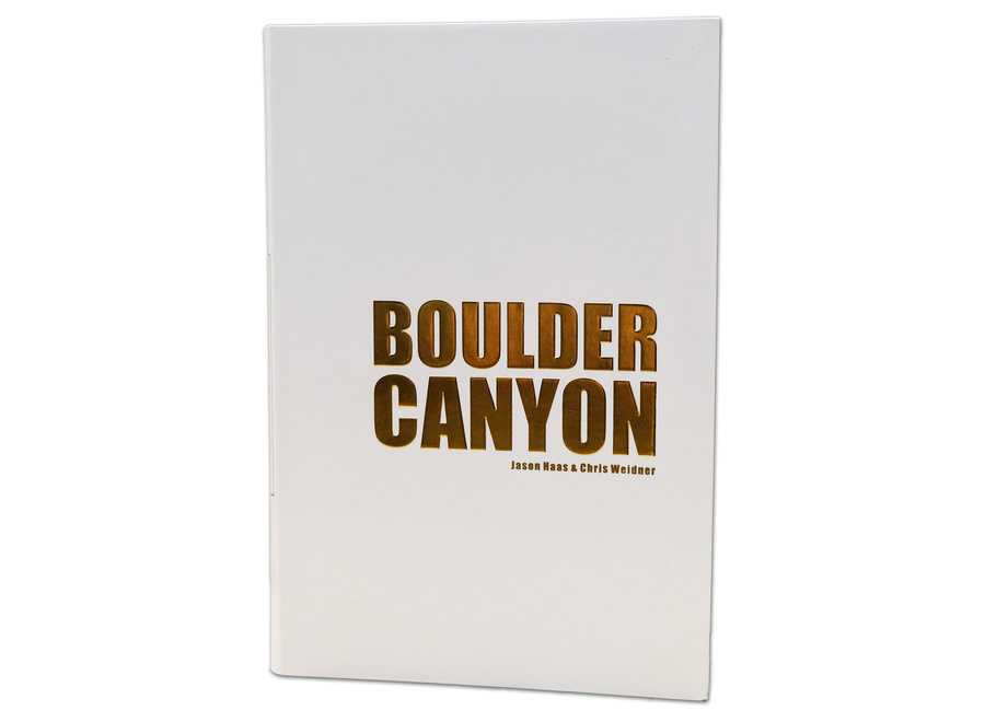 Boulder Canyon Guidebook by Chris Weidner and Jason Haas