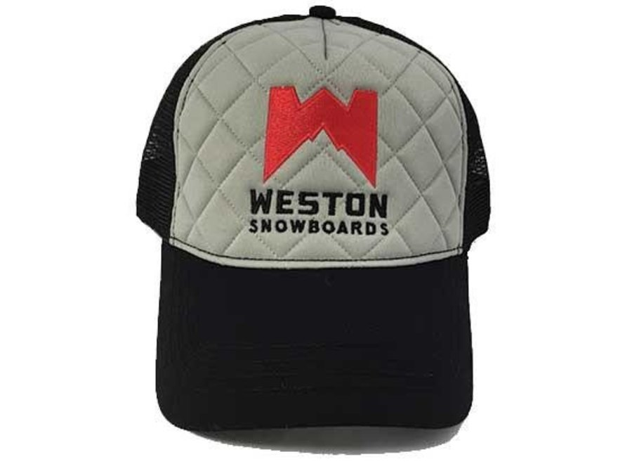 Weston Backcountry Quilted Trucker Hat