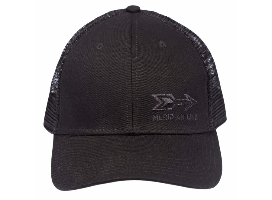 The Meridian Line Simple Logo Trucker