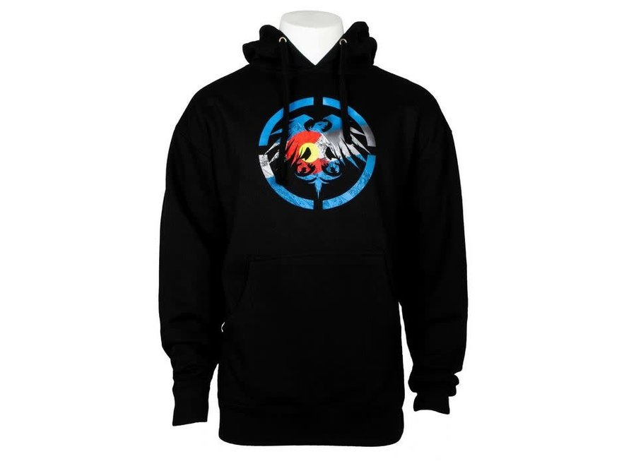 Never Summer Colorado Heritage Pullover Hoodie Clearance