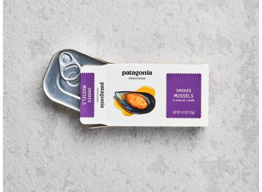 Patagonia Provisions Smoked Mussels