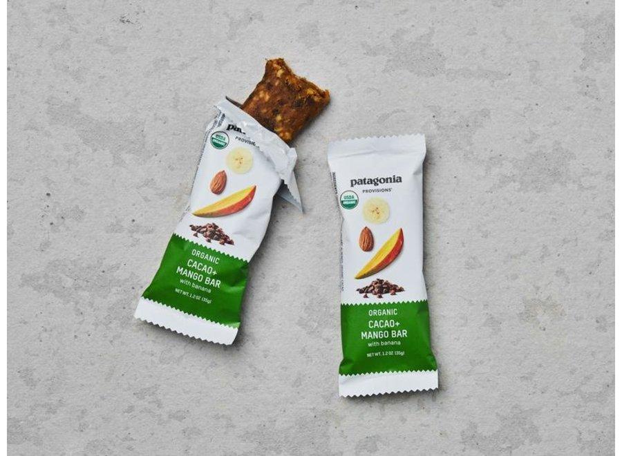 Patagonia Provisions Organic Cacao and Mango Bar