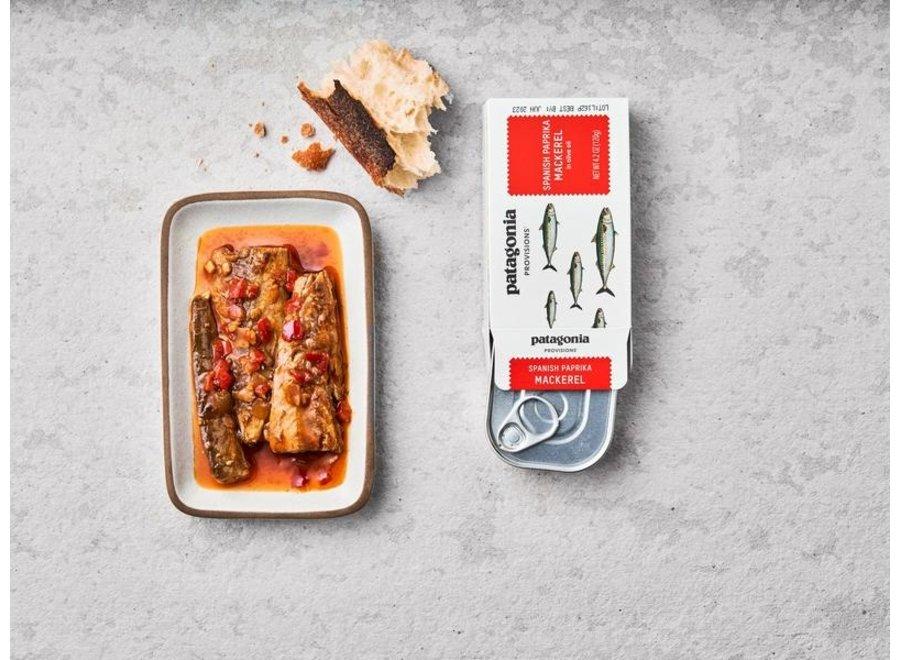 Patagonia Provisions Spanish Paprika Mackerel