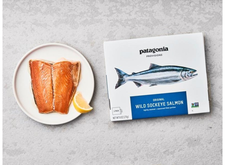 Patagonia Provisions Original Wild Sockeye Salmon 6oz