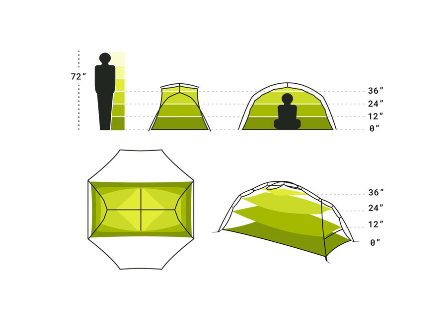 NEMO Equipment Dagger Tent 2P