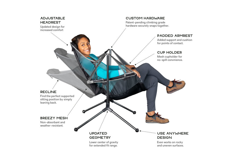 NEMO Equipment Stargaze Recliner Luxury Chair