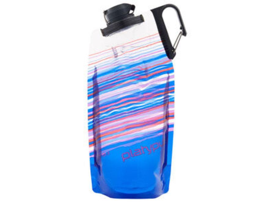 Platypus DuoLock Bottle 1L Blue Skyline