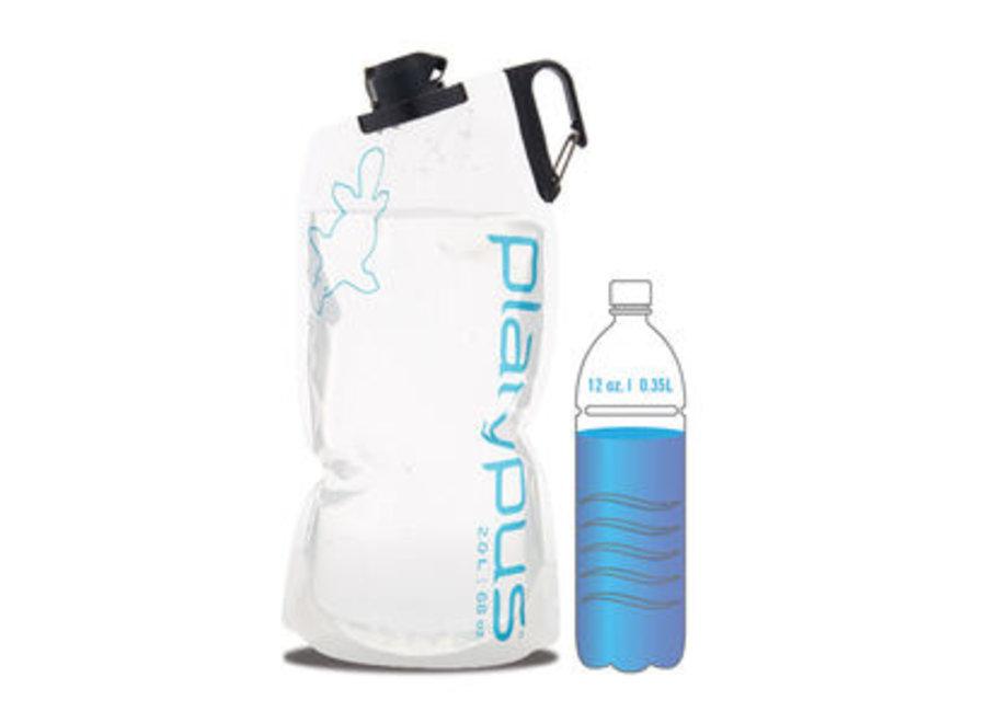 Platypus DuoLock Bottle 1L Orange Skyline