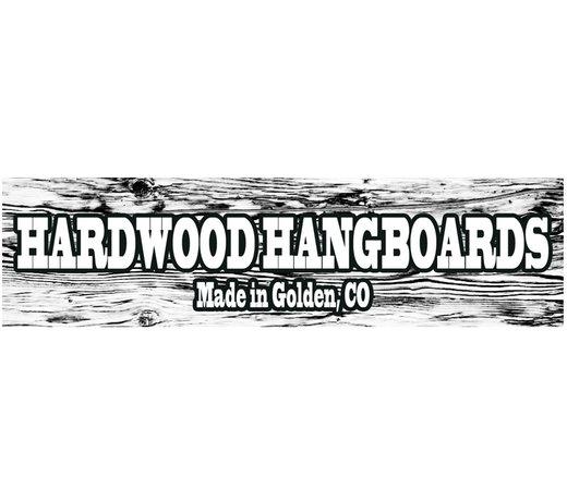 Hardwood Hangboards