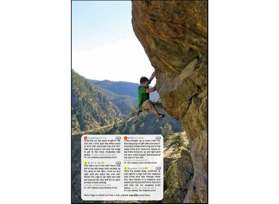 Fixed Pin Rock Climbing Clear Creek Canyon, 3rd Edition by Kevin Capps