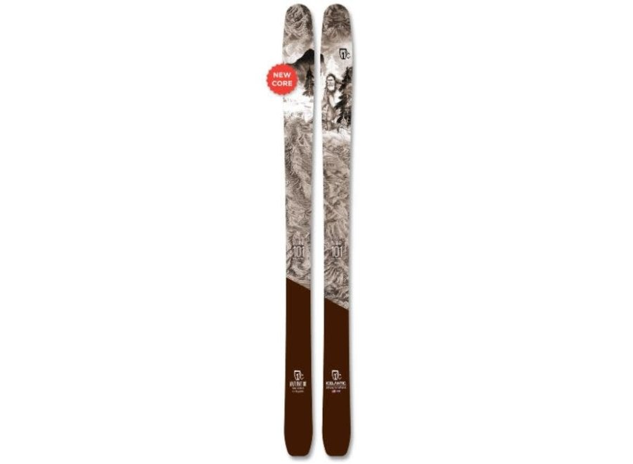 Icelantic Natural 101 Skis 20/21