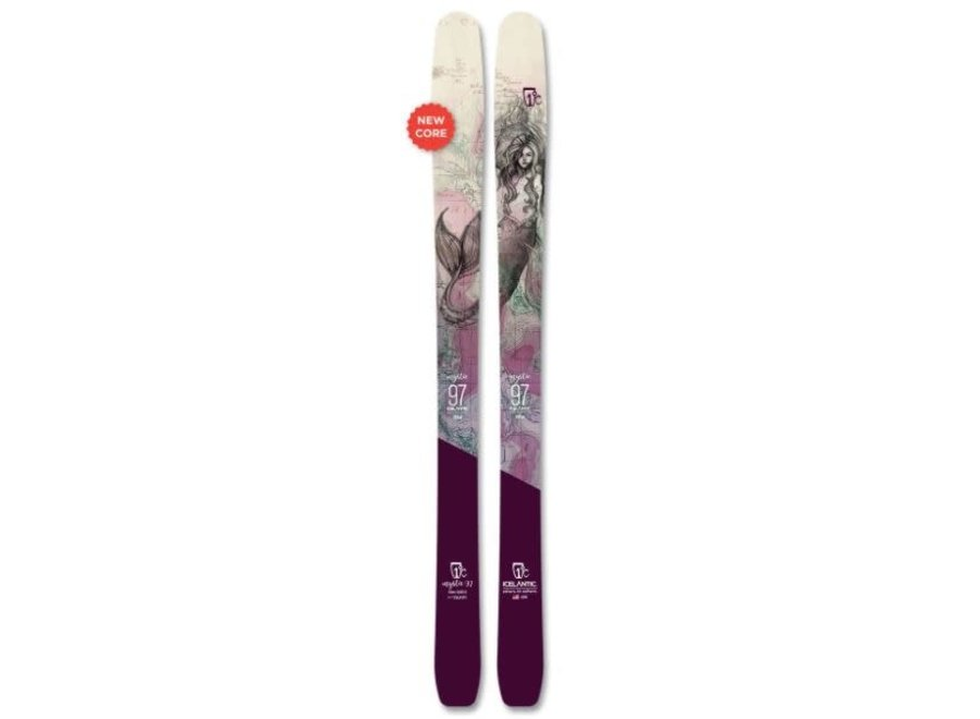 Icelantic Women's Mystic 97 Skis 20/21