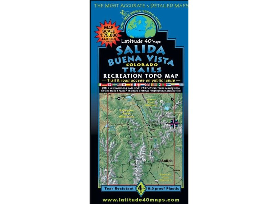 Latitude 40 Salida Buena Vista Trails 4th Edition
