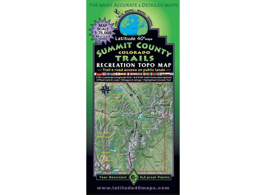 Latitude 40 Summit County Trails 6th Edition