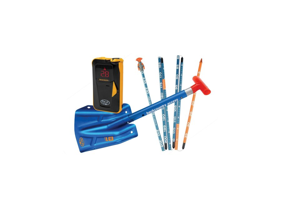 BCA T4 Avalanche Rescue Package - Tracker4 Beacon / Stealth 270cm Probe / B1 EXT Shovel