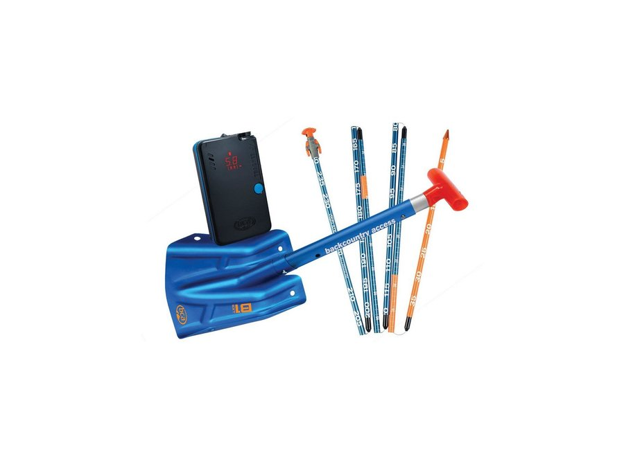 BCA T S Avalanche Rescue Package - Tracker S Beacon / Stealth 270cm Probe / B1 EXT Shovel