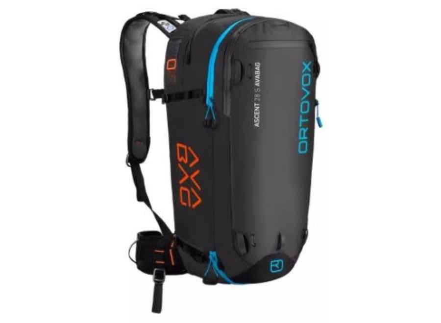 Ortovox Ascent 30 Avabag Airbag Kit Black Anthracite
