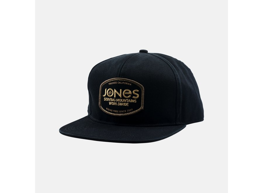 Jones Riding Free Cap Black