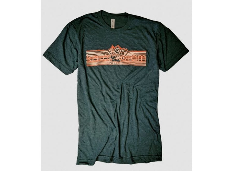 Karakoram Mountain Lines T-Shirt