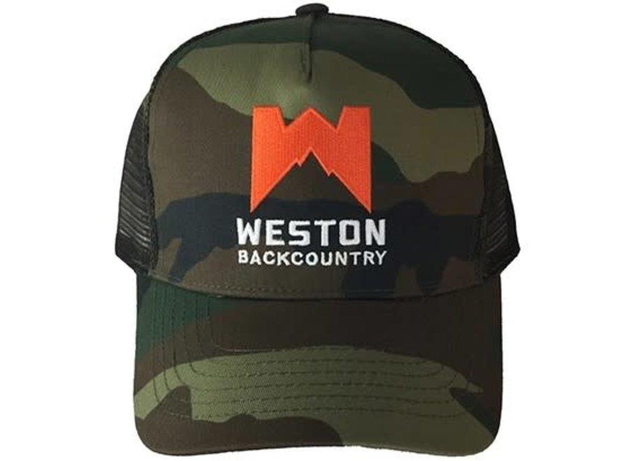 Weston Camo Trucker Hat