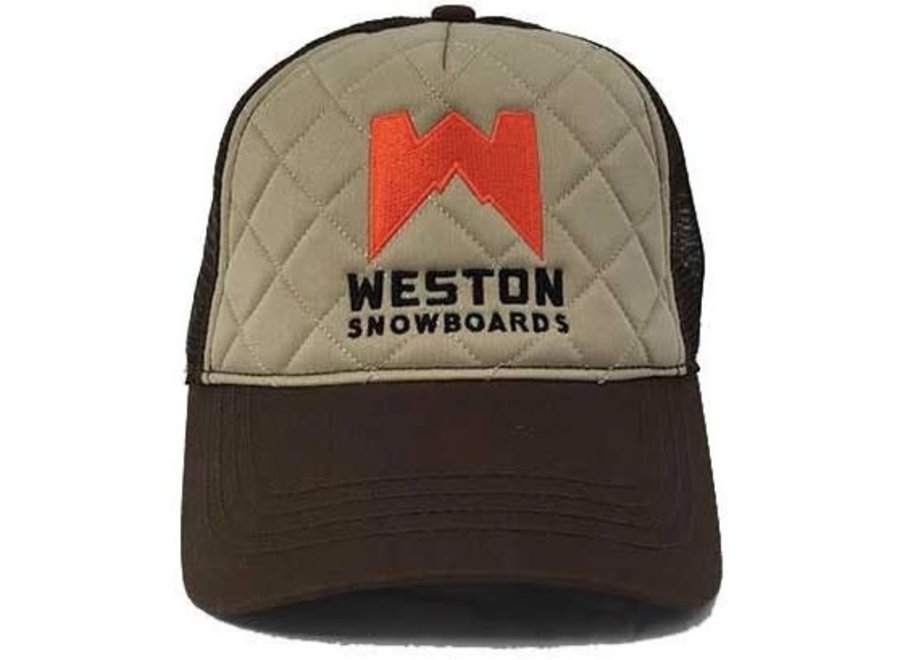 Weston Quilted Trucker Hat