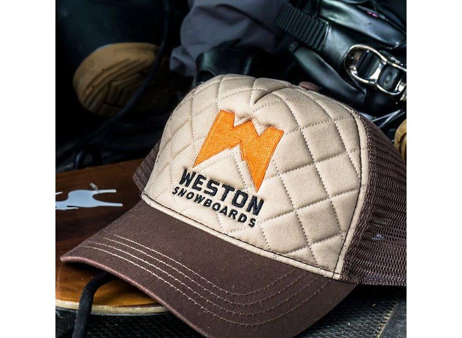 Weston Quilted Trucker Hat