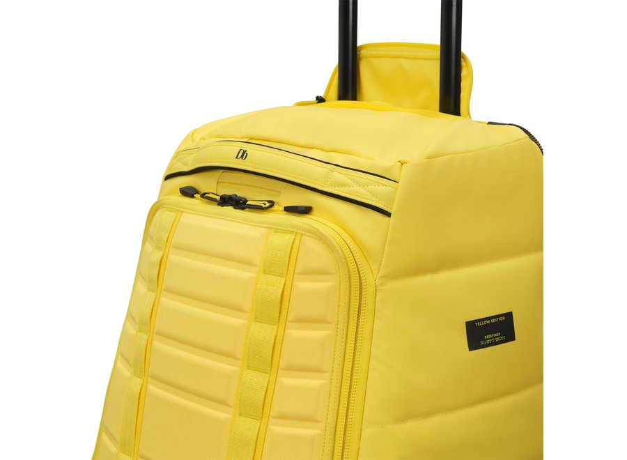 db Big Bastard 90L Wheeled Travel Bag Brightside Yellow Limited Edition