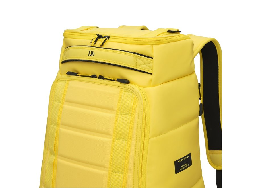 db The Hugger 30L EVA Backpack Brightside Yellow Limited Edition