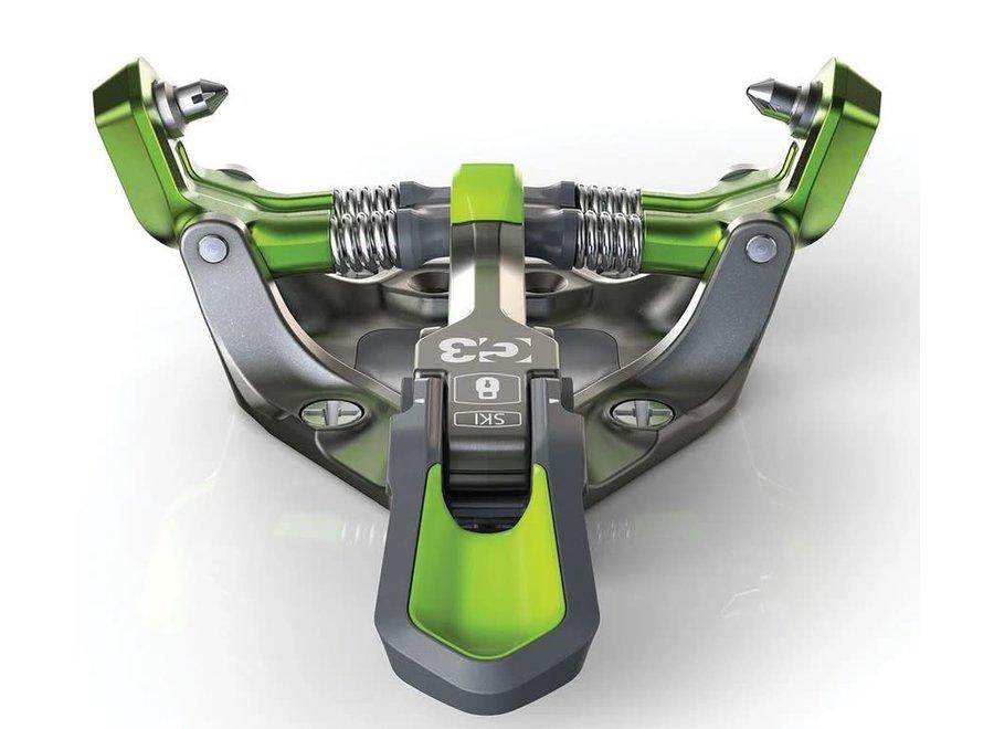 G3 Zed 12 Bindings (No Brakes) 20/21 Green