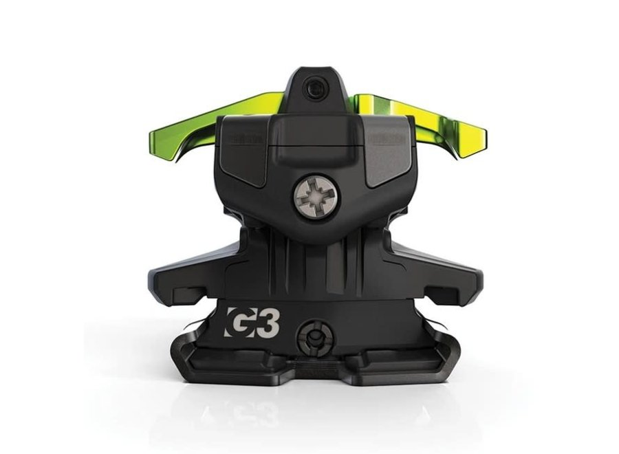 G3 ZED 9 Bindings (No Brakes) 20/21 Green