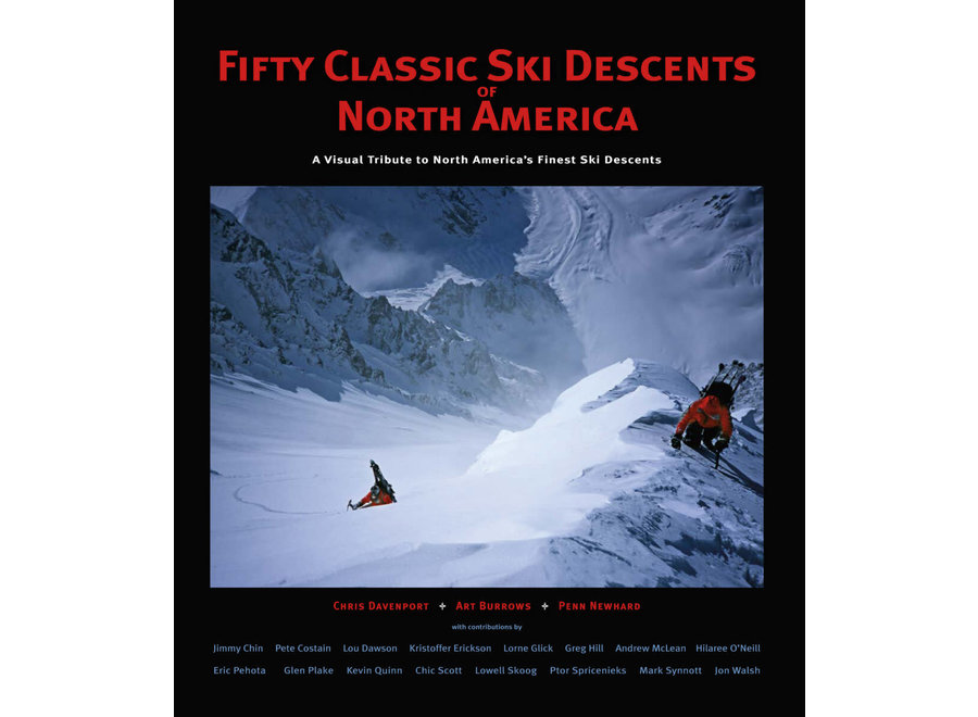 Wolverine Publishing 50 Classic Ski Descents of North America