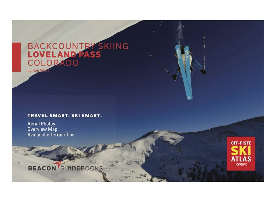 Beacon Guidebooks Backcountry Skiing Loveland Pass Ski Atlas